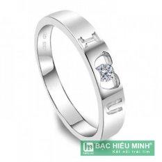 Nhẫn nữ Bạc Hiểu Minh nu204