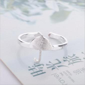 Nhẫn nữ hình ô Simple Style phong cách Châu Âu (NN04)