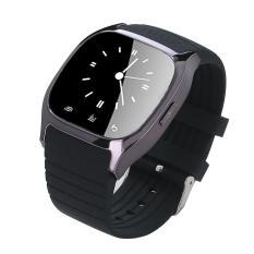 Giá Khuyến Mại Vòng đồng hồ đeo tay thông minh kết nối Bluetooth với điện thoại di động hiệu niceEshop, màu Đen