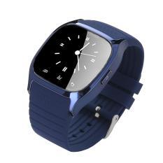 Đồng hồ đeo tay thông minh niceEshop kết nối Bluetooth với điện thoại thông minh, Xanh dương