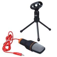 Bảng Giá niceEshop Professional Condenser Podcast Studio Sound Recording Microphone for PC Laptop (Black)