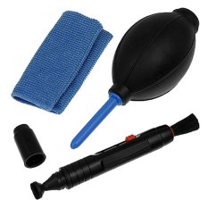 Giá bán niceEshop Professional Lens Cleaning Kit Set With Pen Cloth Air Blower for Cameras