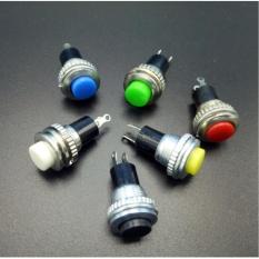 Nút nhấn passing độ chế Tròn 12mm (1 cái - màu ngẫu nhiên)