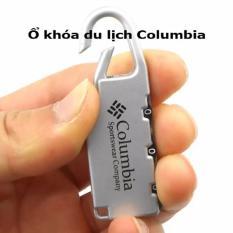 Ổ Khóa Số Du Lịch Columbia (Bạc)