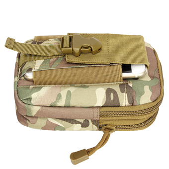 Outdoor Tactical Waist Pack Bag EDC Camping Hiking Pouch CP