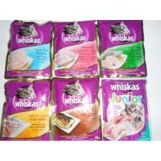 COMBO 6 GÓI Pate cho mèo Whiskas 85g MIX CÁC VỊ
