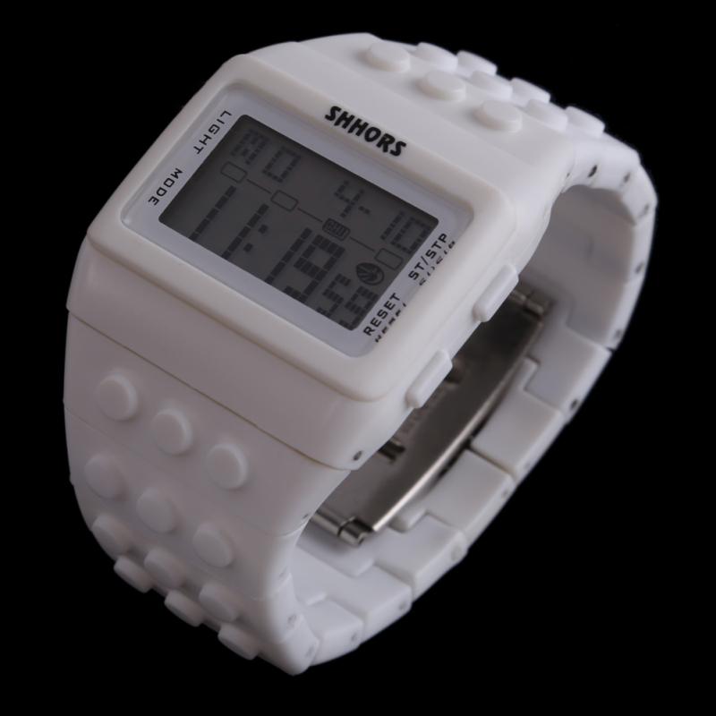 Retro Chic Unisex Digital Constructor Multi Function Watch Sports C - bán chạy
