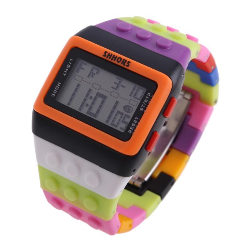 Retro Chic Unisex Digital Constructor Multi Function Watch Sports P - bán chạy