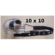 Rọ Mõm Chó Inox 10×10 Đai Dây Dù Vệ Sinh Và An Toàn Có Đệm