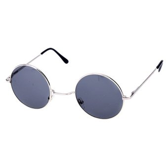 Round Sunglasses (Blue)