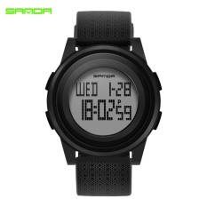 SANDA 2017 New Sport Watch Couple Watches Electronic Watch Boy LED Digital Wrist Watches For Men Male Clock Relogio Masculino 337