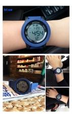 Đồng hồ thể thao thời trang hiệu Sanda dành cho Nam, chất liệu Silicon, chống thấm nước