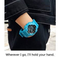 SANDA Double Display Multifunction Sport Outdoor Digital Watch with Noctilucent Pedometer Luminous 30M Waterproof Wrist Watch – intl