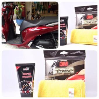 Siêu Làm Bóng Sơn Thunder Super Polish (Nano Tech) và khăn lau 3M - 8781499 , TH829OTAA3G4MPVNAMZ-6069218 , 224_TH829OTAA3G4MPVNAMZ-6069218 , 195000 , Sieu-Lam-Bong-Son-Thunder-Super-Polish-Nano-Tech-va-khan-lau-3M-224_TH829OTAA3G4MPVNAMZ-6069218 , lazada.vn , Siêu Làm Bóng Sơn Thunder Super Polish (Nano Tech) và khă