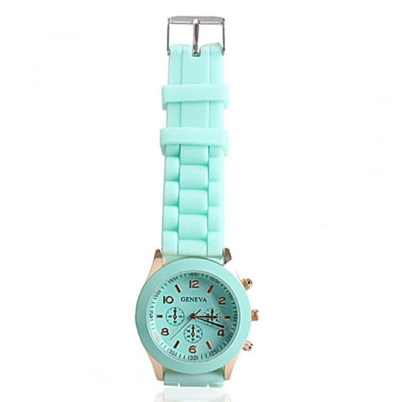 Amart Girls Candy Wrist Watch Quartz Silicon Watchband (Purple) - intl bán chạy