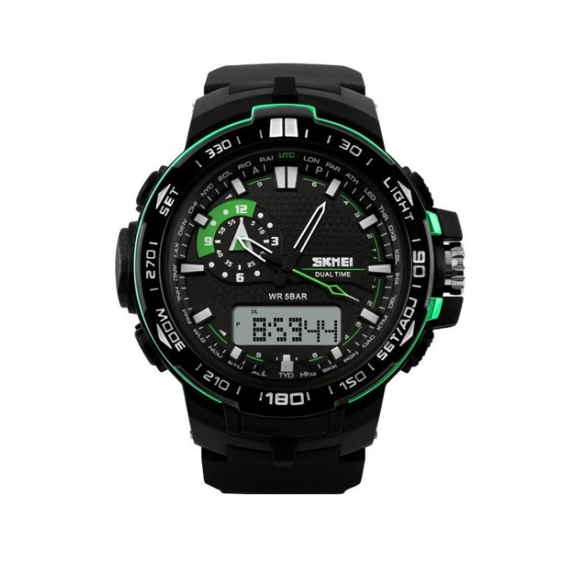 Nơi bán SKMEI 1081 Digital Analog Waterproof Watch(Not Specified)(OVERSEAS) - intl