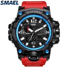 SMAEL Brand Sport Watch Men's Fashion Analog Quartz LED Digital Electronic Watch Men Multifunctional Waterproof Military Watches – intl