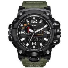 SMAEL Brand Watch 1545 Waterproof Fashion Watch Men Sport Analog Quartz-Watch Dual Display LED Digital Electronic Watches relogio masculino – intl