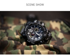 SMAEL Brand Watch Fashion army watch Men Waterpoof Camouflage Watchband Watches Men Digital Wristwatches Relogio Masculino 1545C – intl