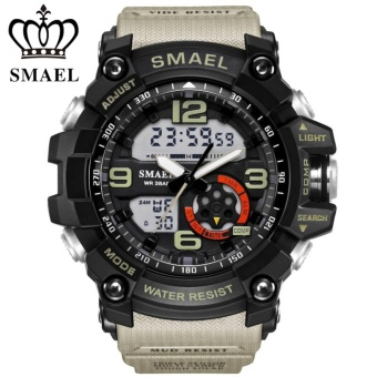 Cửa hàng bán SMAEL Student fashion movement, multi-function LED electronic watches, popular men's business waterproof watches – intl
