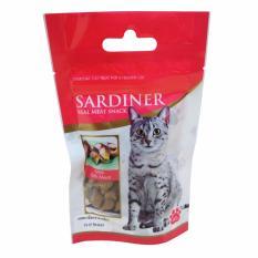 Thức ăn vặt Snack cho mèo thương hiệu Sardiner Green Mussel