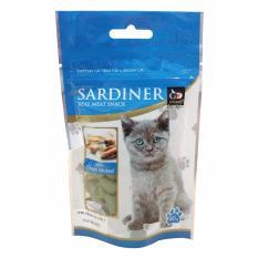 Thức ăn vặt cho mèo bổ sung canxi Sardiner Smoked Fish (Hào biển)