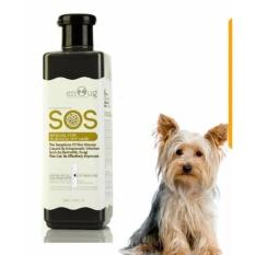 Sữa Tắm SOS cho chó mèo bảo vệ phòng ngừa ve nấm 530ml (Đen)