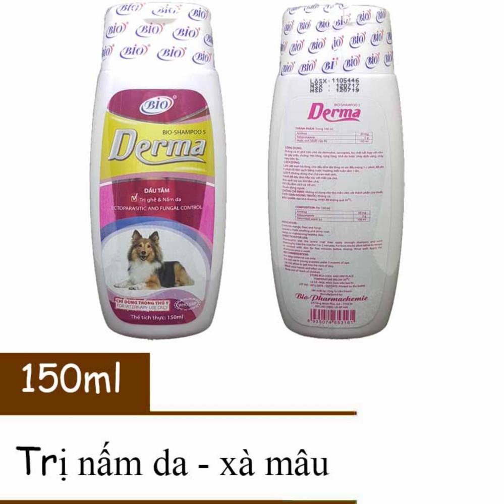 Sữa Tắm Trị Ve, Ghẻ, Nấm Da, Xà Mâu 2 Ngày Hết Ngay – Bio Derma 150ml