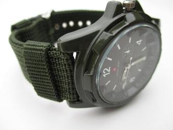 Swiss Army Men`s Green Fabric Strap Watch - intl - 8574251 , OE680OTAA4FDP3VNAMZ-8111104 , 224_OE680OTAA4FDP3VNAMZ-8111104 , 168337.3 , Swiss-Army-Mens-Green-Fabric-Strap-Watch-intl-224_OE680OTAA4FDP3VNAMZ-8111104 , lazada.vn , Swiss Army Men`s Green Fabric Strap Watch - intl