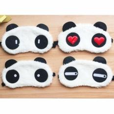Tấm Bịt Mắt Ngủ Du Lịch Hình Gấu Panda