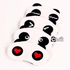 [Combo 10]Tấm Bịt Mắt Ngủ Hình Gấu Panda