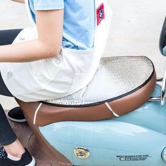 Tấm lót chống nóng,chống bụi cho xe máy