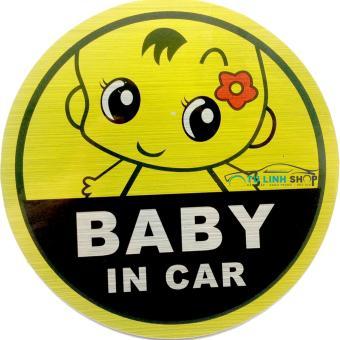 Tem Baby in Car (Mẫu 1)