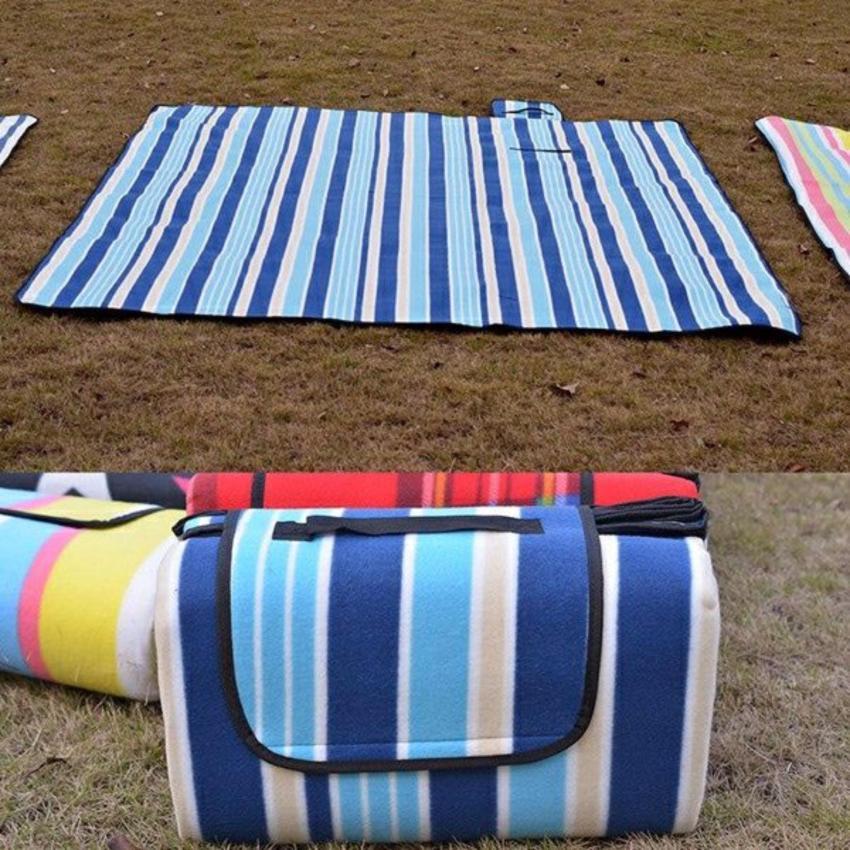 Thảm du lịch, picnic gấp gọn chống thấm nước tiện dụng 1m5x1m8