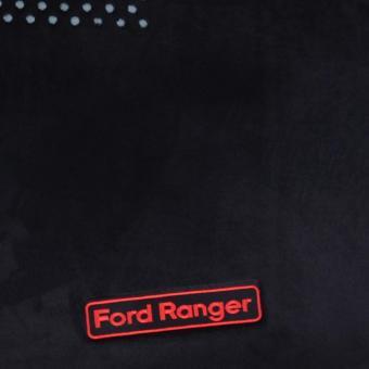 Thảm nỉ chống nóng táp lô xe ô tô Ford Ranger XLS số tự động (Đen) - 2
