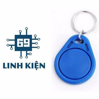 Thẻ RFID S50 màu xanh dương (có móc khóa đi kèm)