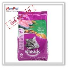 Thức ăn cao cấp cho mèo trên 1 năm tuổi Whiskas – 400gr vị cá biển (hanpet 202)