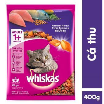 Thức ăn cho mèo Whiskas vị cá thu túi 400gr - 8837213 , WH954OTAA68YP3VNAMZ-11532752 , 224_WH954OTAA68YP3VNAMZ-11532752 , 35000 , Thuc-an-cho-meo-Whiskas-vi-ca-thu-tui-400gr-224_WH954OTAA68YP3VNAMZ-11532752 , lazada.vn , Thức ăn cho mèo Whiskas vị cá thu túi 400gr