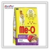 Thức ăn  dạng hạt  cho mèo lớn ME-O 350gr ( vị Hải sản) hanpet 201e