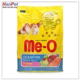 Thức ăn dạng hạt  mèo con - ME-O kitten vị cá biển (hanpet 204c)  (gói 1,1kg)