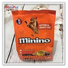 Mẫu sản phẩm Thức ăn hạt phẩm chất Pháp Quốc Minino cho mèo mọi lứa tuổi – Gói 480g – sunzin 233
