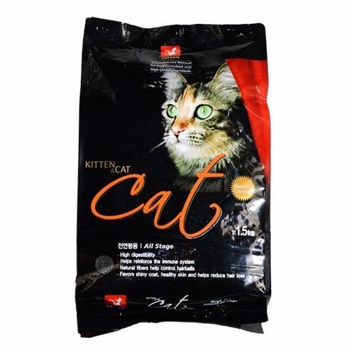 thức ăn mèo hàn quốc - CAT'S EYE - gói chiết 500gr