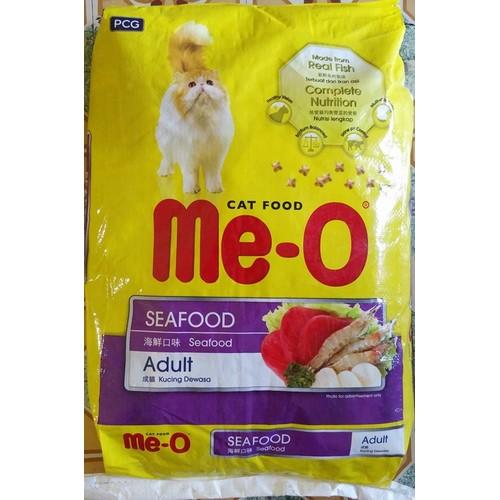 Cập Nhật Giá THỨC ĂN MÈO ME-O sea food BAO 7KG