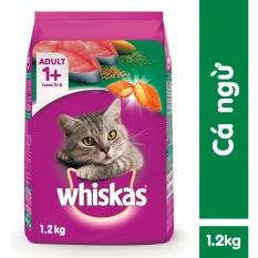 Thức ăn mèo Whiskas vị cá ngừ túi 1.2kg