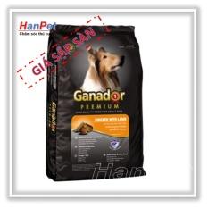 Thức ăn viên cao cấp Ganador Adult gói 1,5kg – Dành cho chó trưởng thành (hanpet 210)