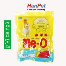 Thức ăn viên cho mèo lớn Me-O gói nhỏ 100gr (vị CÁ NGỪ) (HoaMy A 1001)