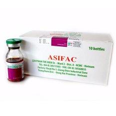 Thuốc phòng trị ve, rận, bọ chét, ghẻ cho vật nuôi Asi-ECOTRAZ 250 (hộp 10 chai 10ml – dung dịch đậm đặc)