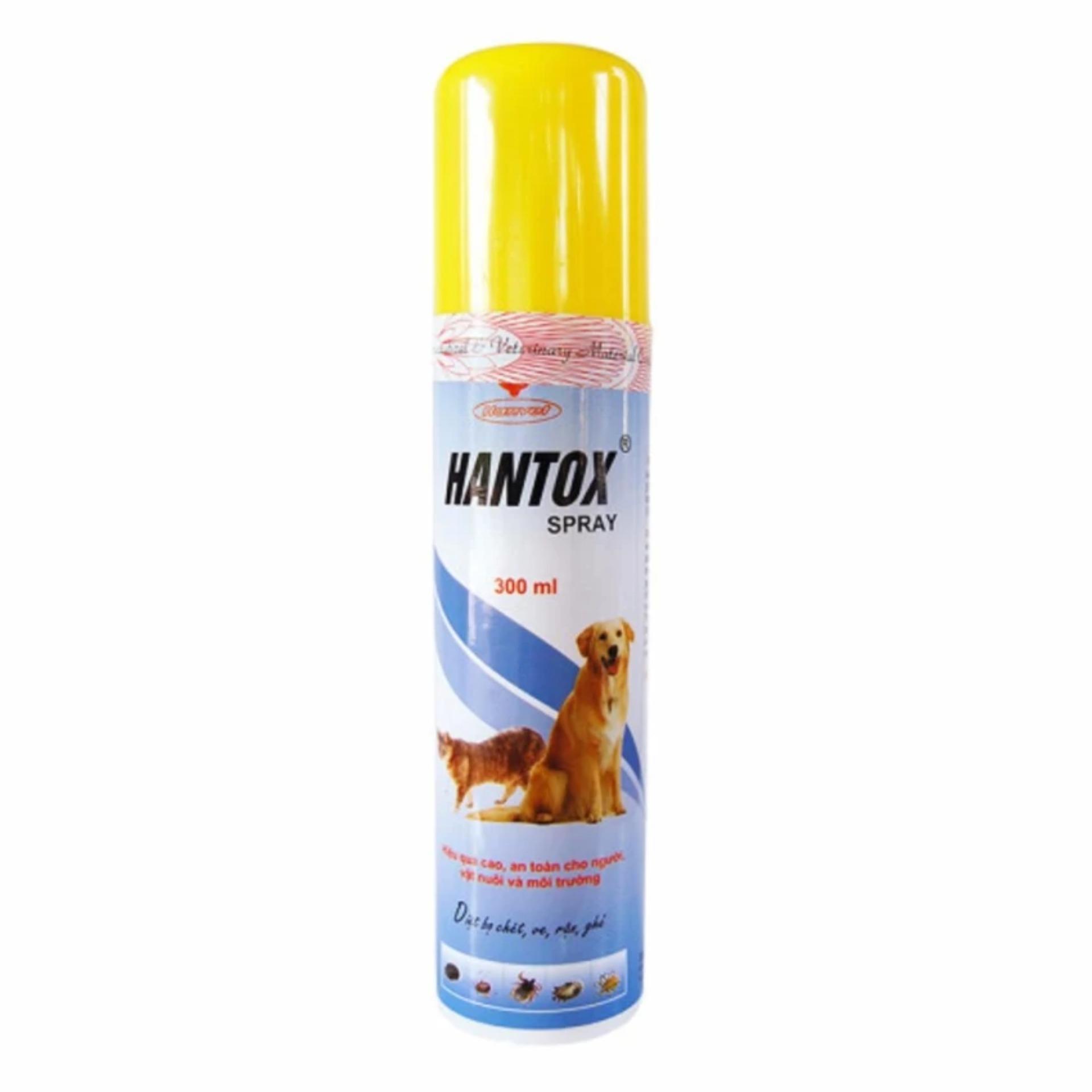 Thuốc xịt bọ, ve mèo Hantox spray