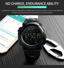 Trendy Brand SKMEI 1303 Men's Smart Watch Bluetooth Multifunction Calorie Pedometer Military Clock Sports Calories Watch for Man – intl