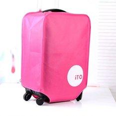 Túi bọc vali chống nước size 28 KP1 Kim Phát (Hồng)